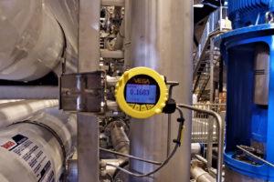 Online pressure sensors detect membrane contamination